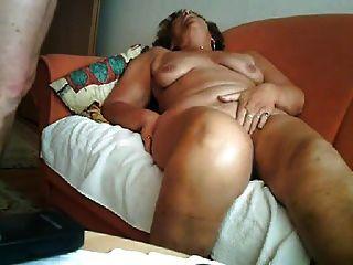 große Orgasmus einer 64yo Oma