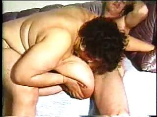 vollbusige Ebenholz BBW Mama hardcore