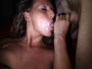 hot Deutsch Creampie gangbang in Kino