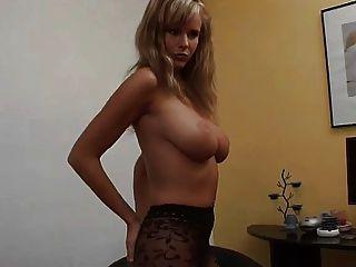 perfekte Frau Zuzana nettes Mädchen Nylon Titten Bein Traum Titten