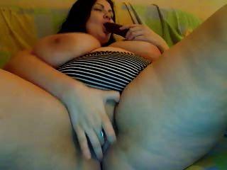 riesigen Titten und saftige Pussy auf cam
