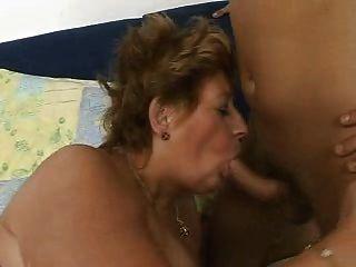 große Dame hetty Fett Oma gefickt gut