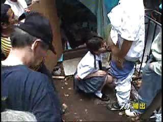süß jap Teen ficken bei öffentlichen Bereich