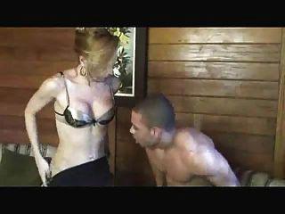 Ebenholz Hahn liebenden Transvestiten