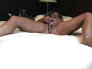 echten Orgasmus allein zu Hause im Schlafzimmer