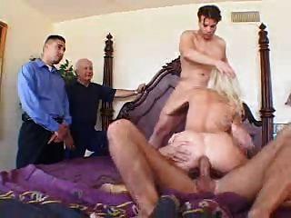 Englisch blonde Frau ganged auf meine Frau schrauben