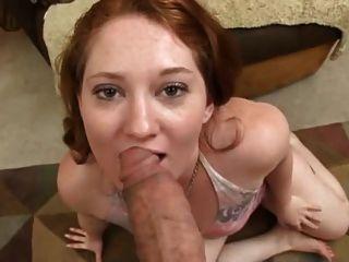 Rothaarige Big Butt anal