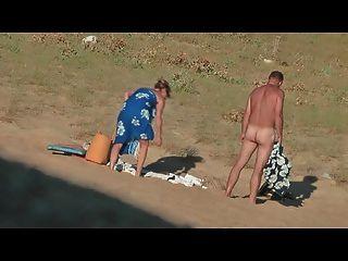 versteckt vid heißen französisch Paar am Strand Teil 7