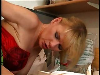 Deutsch Hausfrau verschlingt den Klempner