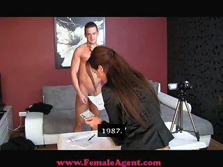 femaleagent versehentliche Gießen Creampie