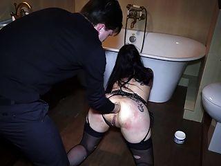 spritzen und anal Fisting! bella schluckt Sperma!
