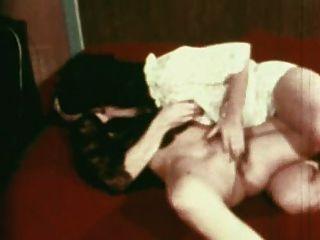 Vintage Gold Sonderausgabe Mädchen nur 1 Szene 7 lesbische Szene