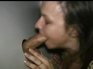 Amateur-Hahn hungrig in Glory Hole