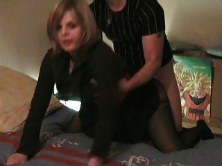 echte Amateur französisch doggy Paar #rec sie sieht in Kamera p1