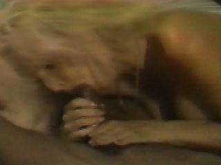 blonde weiße Frau mit schwarzen Liebhaber - Amateur interracial hausgemachte