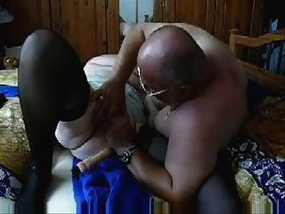 alte Schlampe 73 Jahre alt, die Spaß mit meinem Mann