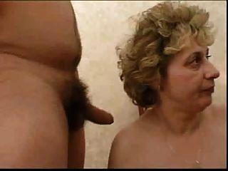 russische Oma und boy..the Making of .... irgendwie