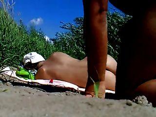 rus öffentlichen Strand Flash-cum beobachten Mädchen 85 - nv