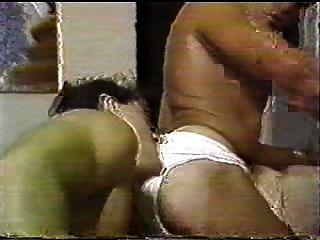 vintage - Hermaphroditen fickt eine bi-Paar