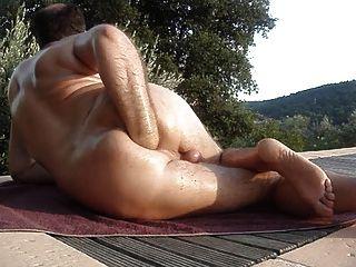 anal im Freien in diesem Sommer Fisting