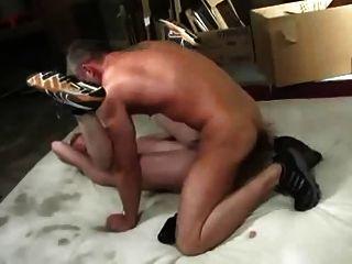 Vater und sein Sohn Rasse Esel nicht