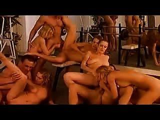 Orgie nach dem Training (Pussy & anal) -mit babestv