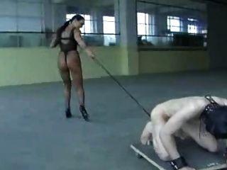 die Herrin ausgebildete Sklaven Bälle