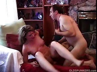 sehr sexy reife Amateur liebt