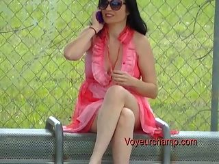 Exhibitionist Frau # 44-Bushaltestelle russische MILF tatiana blinken