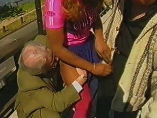 Candice laforet harte fucking bekommen mit zwei alten Mann