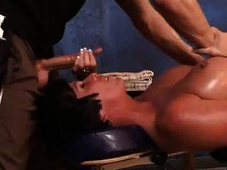 Shay Fuchs Öl und ficken, Massage