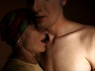 sliim reife Dame und Junge Sex anal