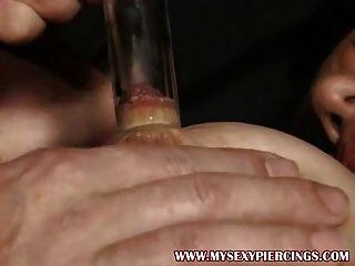durchstochen gepumpten Milf gefickt in ihre beringte Fotze Strümpfe