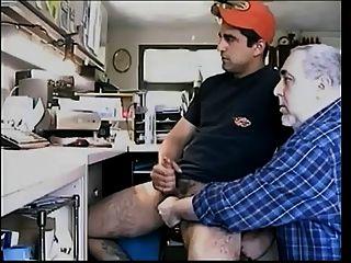 Handjob, Blowjob und cum essen