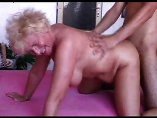 sexy mom n102 blonde bbw reifen und ein junger Mann