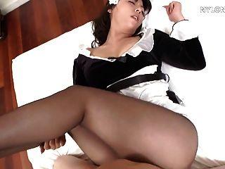 japanisch Strumpfhosen Zofe Sex Nylon Fick