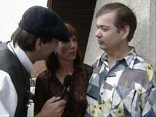 alte Deutsch Paar werden befragt und dann ficken
