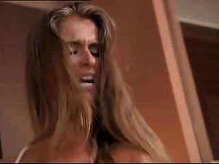 Vierer mit Babe Nessa Teufel und heiße Blondine und Brünette