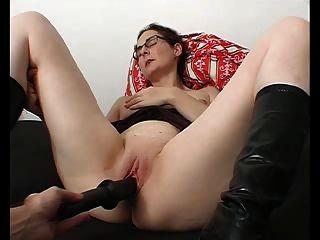 schwarzen Dildo orgasmisch Hübe