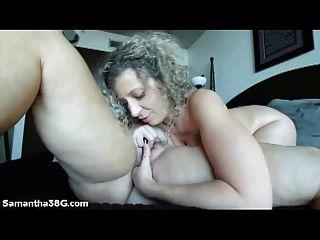 big Tit haupt; samantha 38g und sara jay lecken Muschi