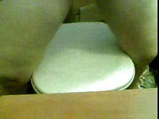 Big Boob Webcam Mädchen reitet Dildo