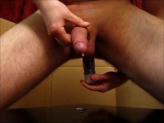 Prostata-Melken mit großen abspritzen