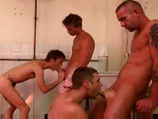 ehrfürchtige Homosexuell 4 einige ficken Szene große Schwänze in der Öffentlichkeit toliet