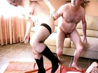 baise entre amis, Steph debar französisch Blondine in gangbang