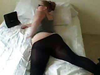 Mädchen mit einem schönen Arsch