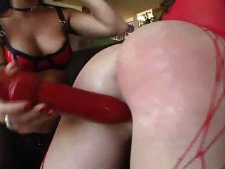 Lesben oral Arsch Sklave