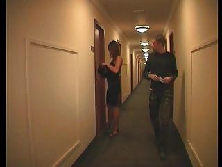 französisch Paar in einem Hotel