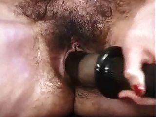 alt reife Dame masturbiert und Ficken