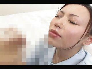 Japanische Mädchen Gesichts-Zusammenstellung 2.
