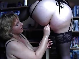 anal bbw Lesben Faust 1